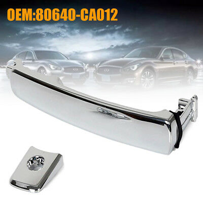 Chrome Front LH Driver Side Exterior Outside Door Handle for Nissan&Infiniti US