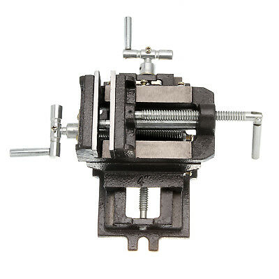 Industrial Leve 100mm Cross Slide Vice 2 Way X-Y Drill Press Vice Clamp Milling