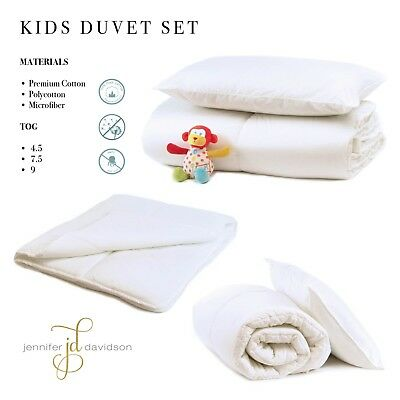 Top Quality Anti-Allergenic Toddler Baby Cot Bed Duvet Quilt,4.5 7.5 and 9 Tog