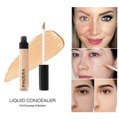 Waterproof Corrector Liquid Cream Foundation Concealer Waterproof Makeup Beauty