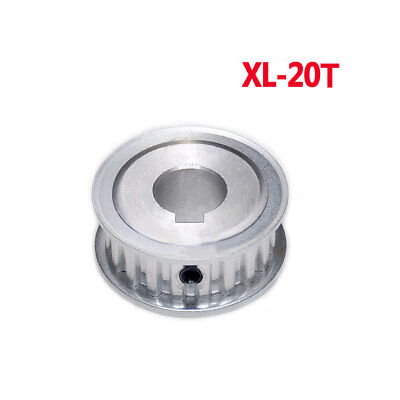 XL 20T Timing Pulley Synchronous Wheel With Keyway 8-19mm Bore For 10mm Belt