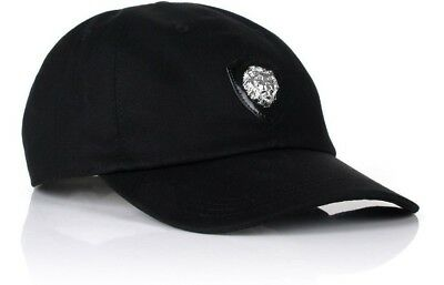 6c9ee187976 VERSUS VERSACE Mens Casual Everyday Hat Lionshead Black Baseball Cap Hat  BNWT