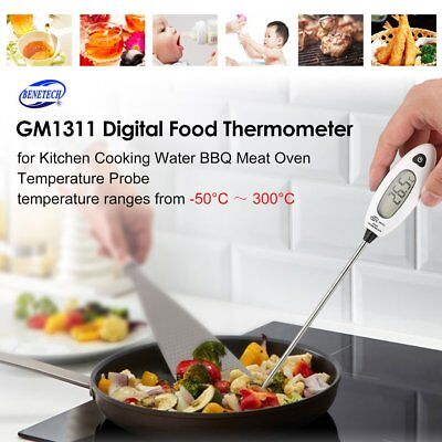 BENETECH GM1311 Food Thermometer Kitchen Cooking BBQ Oil Temperature Probe XD
