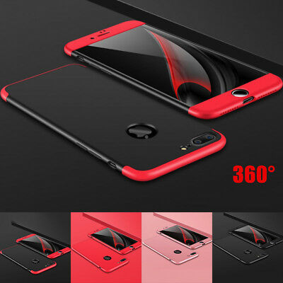 Luxury Ultrathin Shockproof Hybrid 360 Case for Apple iPhone 7/7Plus Xs max