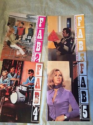 4 Gerry Anderson FAB Magazines (Issues 2/3/4/5)