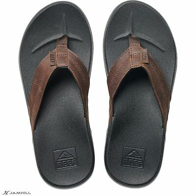 48d247dd2f17b9 REEF MEN S TWINPIN Flip Flops Vegan Leather Upper Arch Support ...