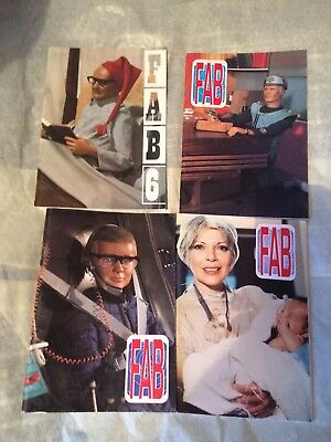4 Gerry Anderson FAB Magazines (Issues 6/7/8/9)