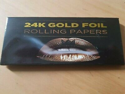 Feuille a rouler 24k Or