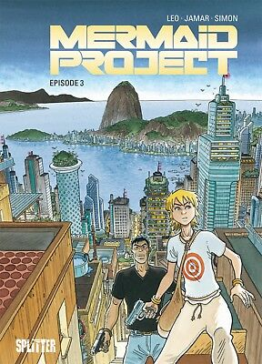 Mermaid Project 3 - Splitter - Leo, Jamar -Comics - deutsch - NEUWARE