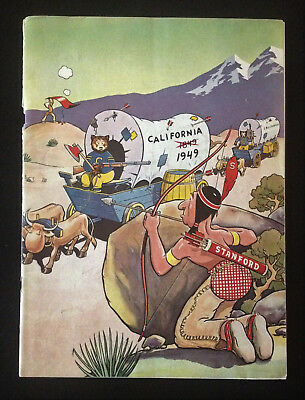Stanford University Program Nov 19 1949 California – Big Game