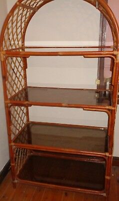 LARGE Cane shelf/shelving glass - FREE local delivery or pick up Ashfield Inner
