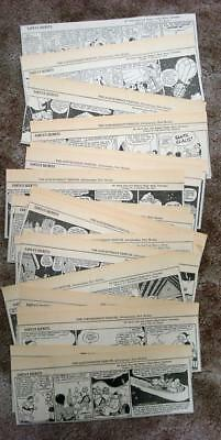 SANTA'S SECRET Rare 1940 26 Episode Daily Newspaper Comic Strip
