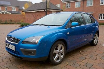 Ford Focus 2007/57- 1.6 petrol- Zetec Climate- Blue- 82000 miles- Drives Great.