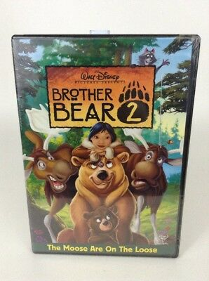 Walt Disney Brother Bear 2 DVD The Moose are on the Loose Sealed