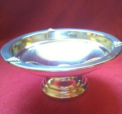 Solid Silver Tazza Dish By G Ibberson & Co Birmingham 1920