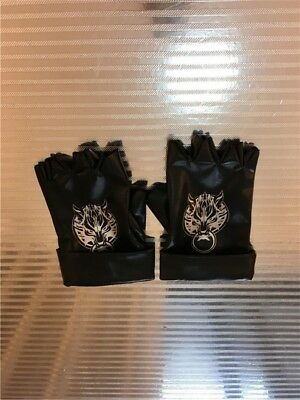 Final Fantasy Cosplay Accessory Wolf Head leather Gloves