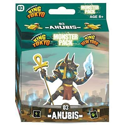 King of Tokyo Anubis Monster Pack (UK IMPORT) GAME NEW