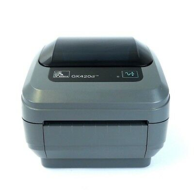 Zebra GK420d Thermal Label Printer - USB / Serial - Royal Mail Recommended