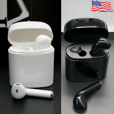 Wireless Bluetooth Earphone Mini Earbuds For Apple Ear-pods iPhone 7 8 X Android