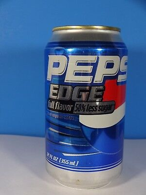 2004 Pepsi Cola Aluminum Can Pepsi Edge Full Flavor 12 Oz