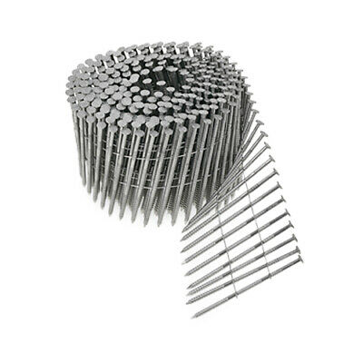 "Simpson Strong-Tie S13A200SNBP 2"" x .090 304SS Ring-Shank Siding Nails 1200ct"