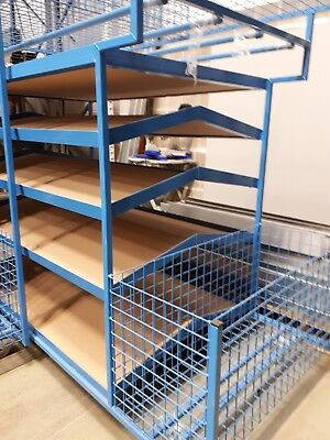 Brand new High quality Stock Picking Warehouse Trolley- Kanban process