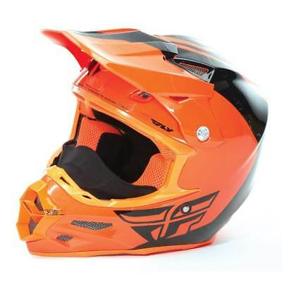 Fly Racing F2 Carbon Pure Sno-X Racing Helmet Cold Mx Atv Snell Large Snocross