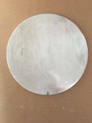 304 Stainless Steel 3/8 Inch X 8 15/16 Inch Round/Disc Circle Plate