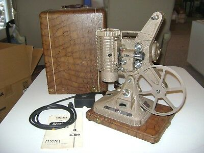 Keystone Regal K109 8mm Movie Projector with Case