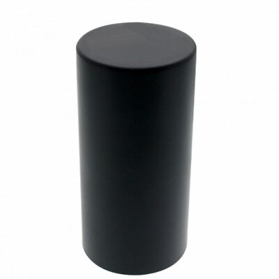 "Black 33 Mm X 4 1/4"" Dome Nut Cover - Thread-On"
