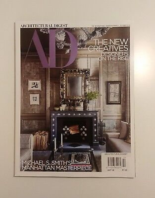 Architectural Digest October 2018