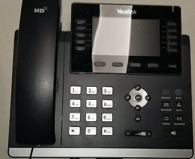 Verizon Yealink SIP-T46G Gigabit VoIP Phone