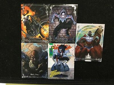 2018 Marvel Masterpieces Tier 2 Lot Of 16 /1499 Ghostrider,Nick Fury,Iceman!!!