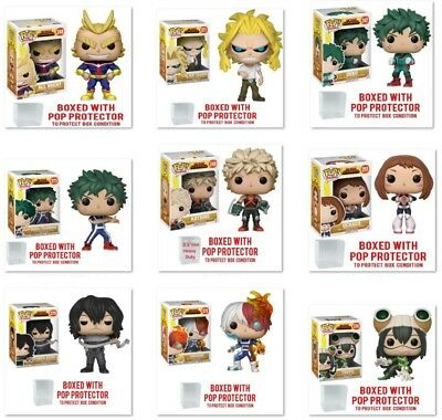 My Hero Academia Animation Funko Pop! First & Second Waves Vinyl Collectibles