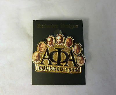Alpha Phi Alpha Fraternity Founders Lapel Pin-New!