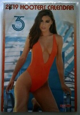 2019 HOOTERS CALENDAR Swimsuit Edition Celebrating 35 Years