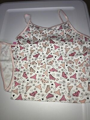 Little Princess Girls 2 Pc Cami And Panty Set Size Small 4/6