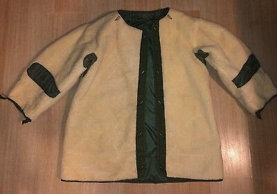 Mint Vintage M-1951 M51 Fishtail Alpaca Parka Liner Us Army Issue Small