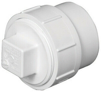 Charlotte Pipe Clean-Out Adapter Pvc Dwv Spigot X Fpt 4 ""
