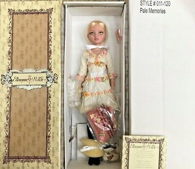 "Ellowyne Wilde ""pale Memories"" Tonner Doll~Mib/htf~Give As Gift~L@@k Now!!"