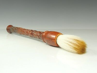 Chinese Exquisite Handmade Ancient people pattern antlers writing brush