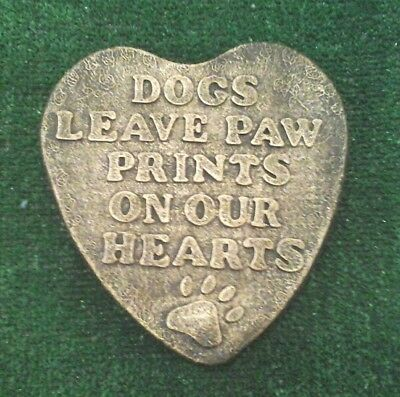 Dog Large Pet Memorial/headstone/stone/grave marker/memorial paw