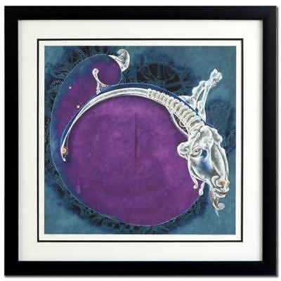 """Lu Hong """"Aries"""" Hand Signed Limited Edition Giclee; Framed"""
