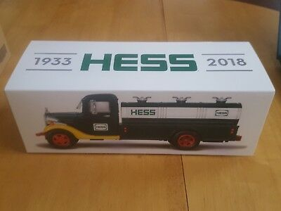 2018 Collector's Edition Hess Truck 85th Anniversary Limited Edition HESS TRUCK