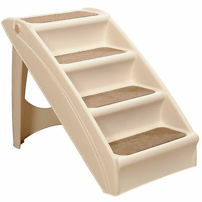 Solvit PetSafe PupSTEP Plus Pet Stairs, Foldable Steps for Dogs and Cats, Best