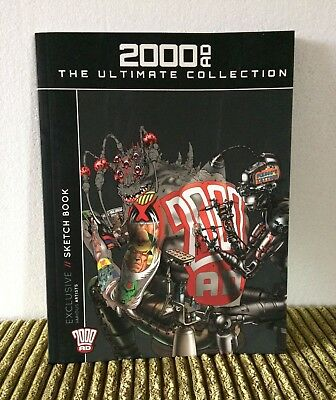 2000AD The Ultimate Collection Subscriber Exclusive Sketch Book Hachette