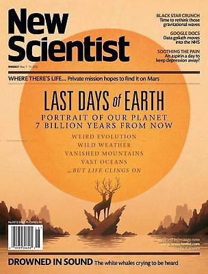 NEW SCIENTIST MAGAZINE 7th MAY 2016 ~ SPECIAL OFFER BUY ANY 6 ISSUES FOR £10.00