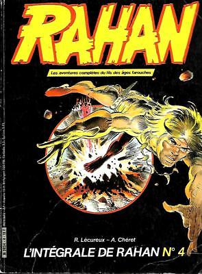 Collection L'INTEGRALE DE RAHAN n° 4 Editions VAILLANT 1984
