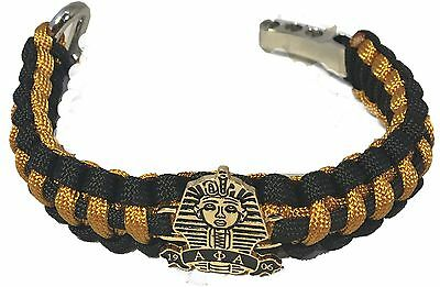 Alpha Phi Alpha Fraternity Survival Paracord Bracelet with Symbol-New!