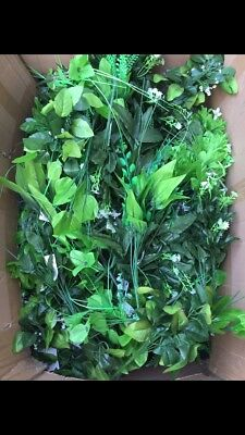 30x Artificial Greens Bunches Joblot No Heads Clearance Foliage Leaves Craft